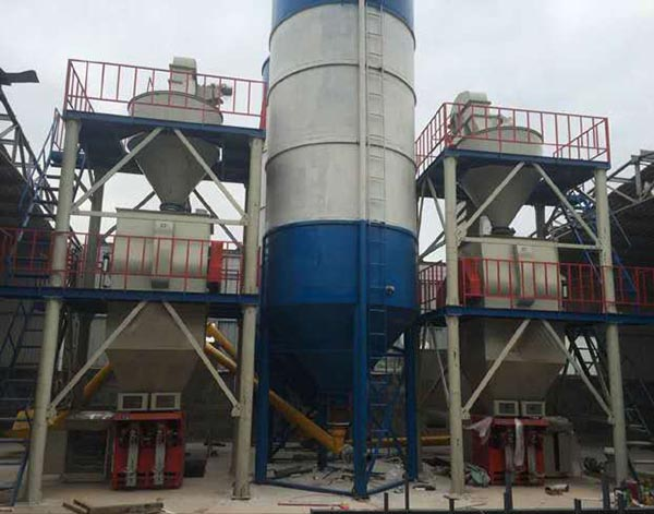 Small Dry Mortar Mixing Plant, Small Capacity Dry Mortar Production Line